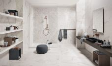 Renaissance Collection Classical Calacatta gloss/matt wall tile 700 x 350